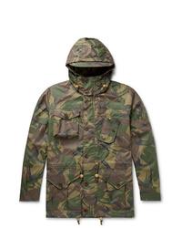 olivgrüne Camouflage Feldjacke von Polo Ralph Lauren