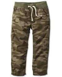olivgrüne Camouflage Hose