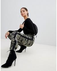 modische olivgrüne camouflage jogginghose für damen für herbst 2020 kaufen | lookastic