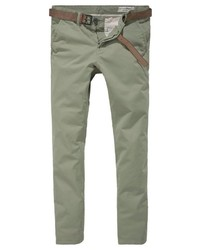 olivgrüne Chinohose von Tom Tailor Denim