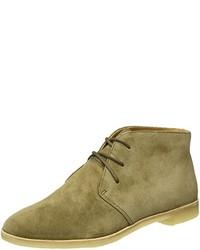 olivgrüne Chukka-Stiefel von Clarks Originals