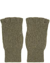 olivgrüne Handschuhe von rag & bone