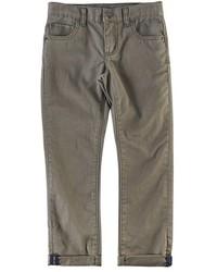 olivgrüne Jeans