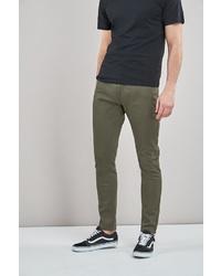 olivgrüne Jeans von next
