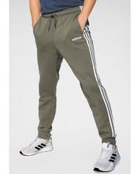 olivgrüne Jogginghose von adidas