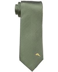 olivgrüne Krawatte