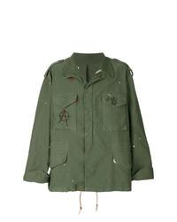 olivgrüne Militärjacke von 424