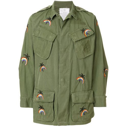 olivgrüne Militärjacke von As65