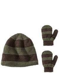 olivgrüne Mütze