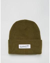 olivgrüne Mütze von Mitchell & Ness