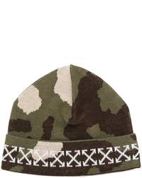 olivgrüne Mütze von Off-White