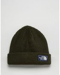 olivgrüne Mütze von The North Face