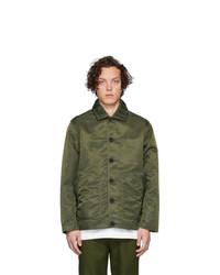 olivgrüne Shirtjacke aus Nylon von Goodfight