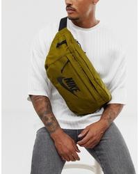 olivgrüne Segeltuch Bauchtasche von Nike