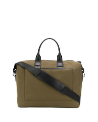 olivgrüne Segeltuch Reisetasche