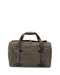 olivgrüne Segeltuch Reisetasche von Filson