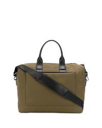 olivgrüne Segeltuch Reisetasche von Troubadour