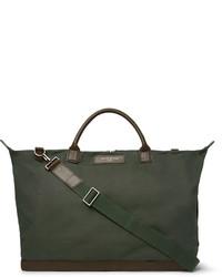 olivgrüne Segeltuch Reisetasche von WANT Les Essentiels