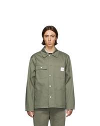 olivgrüne Shirtjacke von A.P.C.