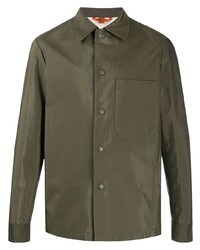 olivgrüne Shirtjacke von Barena