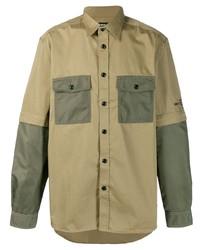 olivgrüne Shirtjacke von Diesel