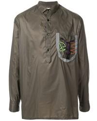 olivgrüne Shirtjacke von Kolor