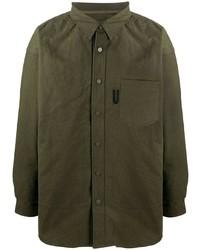 olivgrüne Shirtjacke von Readymade