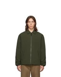 olivgrüne Shirtjacke von The Very Warm