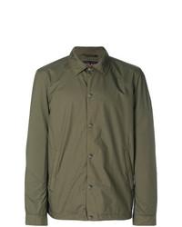 olivgrüne Shirtjacke von Woolrich