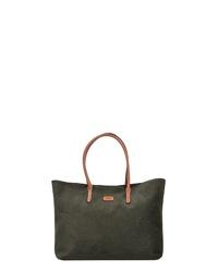 olivgrüne Shopper Tasche aus Leder von Bric's