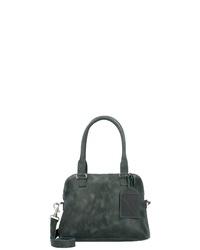 olivgrüne Shopper Tasche aus Leder von Cowboysbag