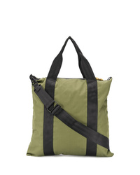 olivgrüne Shopper Tasche aus Segeltuch von Bellerose