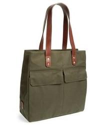 olivgrüne Shopper Tasche