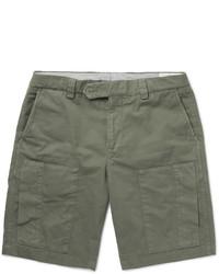 olivgrüne Shorts von Brunello Cucinelli