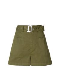 olivgrüne Shorts von Dondup