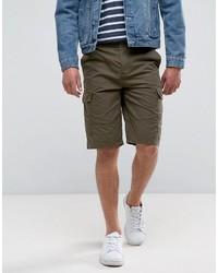 olivgrüne Shorts von French Connection