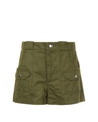 olivgrüne Shorts von Marni