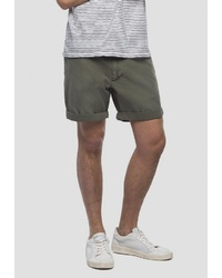 olivgrüne Shorts von Replay