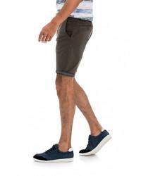olivgrüne Shorts von SALSA JEANS