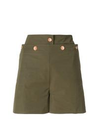 olivgrüne Shorts von See by Chloe