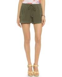 olivgrüne Shorts von Splendid