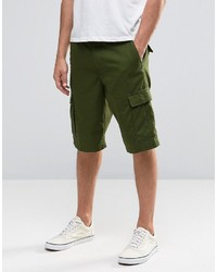 olivgrüne Shorts von Vans