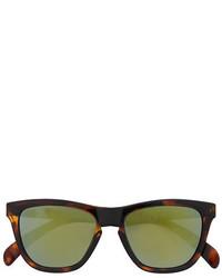 olivgrüne Sonnenbrille