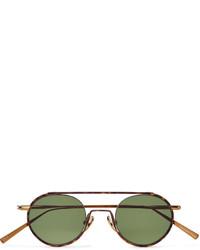 olivgrüne Sonnenbrille von Acne Studios