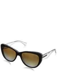 olivgrüne Sonnenbrille von Dolce & Gabbana