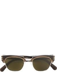 olivgrüne Sonnenbrille von Marc Jacobs