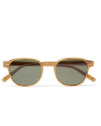 olivgrüne Sonnenbrille von Moscot