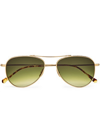 olivgrüne Sonnenbrille von Mr Leight