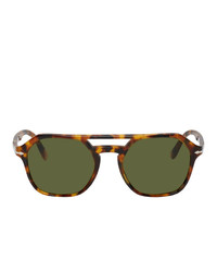 olivgrüne Sonnenbrille von Persol