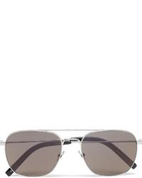 olivgrüne Sonnenbrille von Saint Laurent